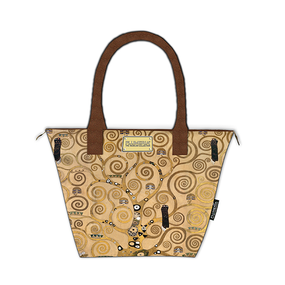 Tote Bag Canvas, Klimt, Tree of Life