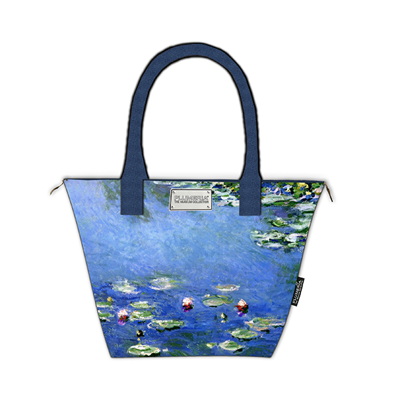Tote Bag Canvas, Monet, Waterlilies