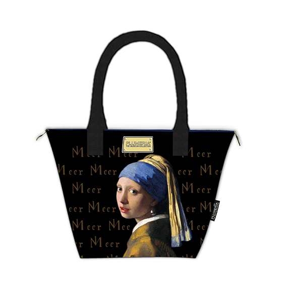 Tote Bag Canvas, Vermeer, Girl with Pearl Earring