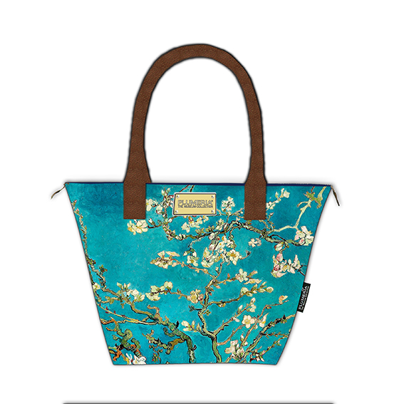 Tote Bag Canvas, Van Gogh, Almond Blossom Gold