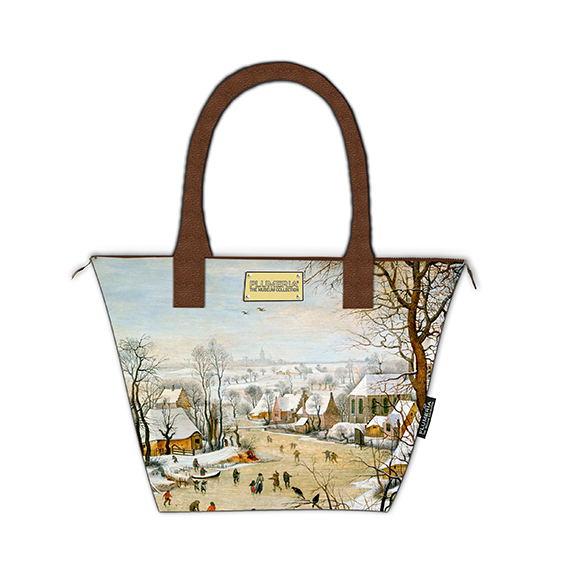 Tote Bag Canvas, Bruegel, Winter landscape