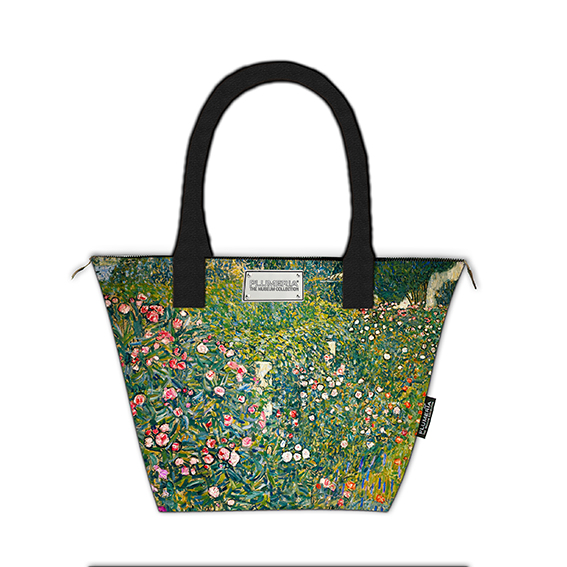 Tote Bag Canvas, Klimt, Italian Garden Landscape