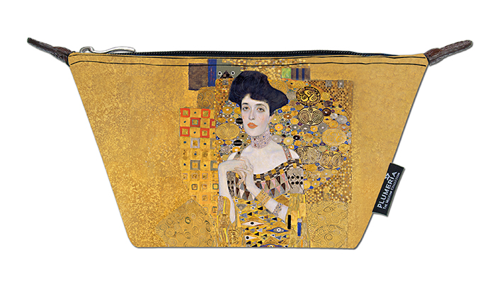 Cosmetic Bag Canvas, Klimt, Adele