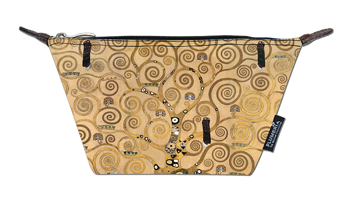 Cosmetic Bag Canvas, Klimt, Tree of Life