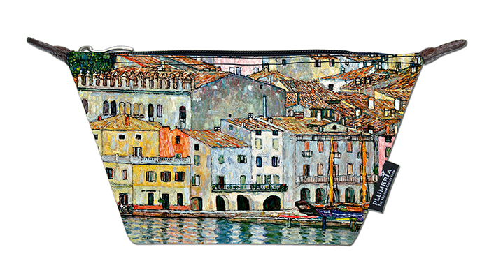 Cosmetic Bag Canvas, Klimt, Malcesine