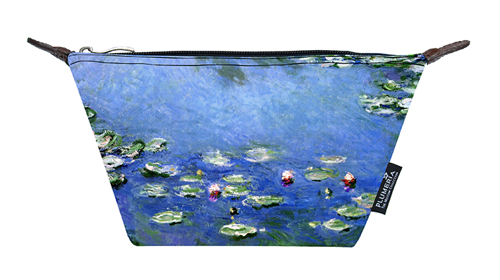 Cosmetic Bag Canvas, Monet, Waterlilies