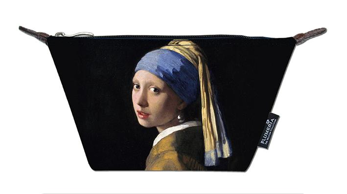 Cosmetic Bag Canvas, Vermeer, Girl with Pearl Earring