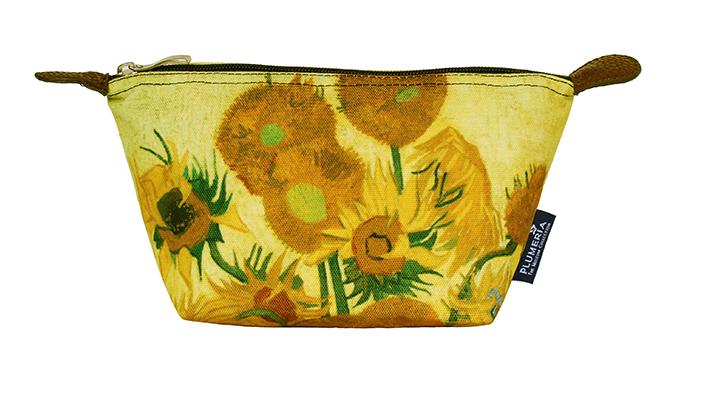 Cosmetic Bag Canvas, Van Gogh, Sunflowers