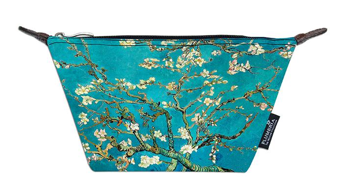 Cosmetic Bag Canvas, Van Gogh, Almond blossom