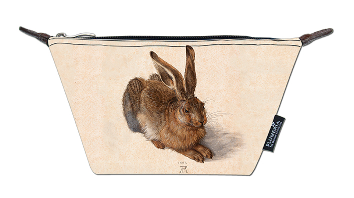 Cosmetic Bag Canvas, Duerer, A Young Hare