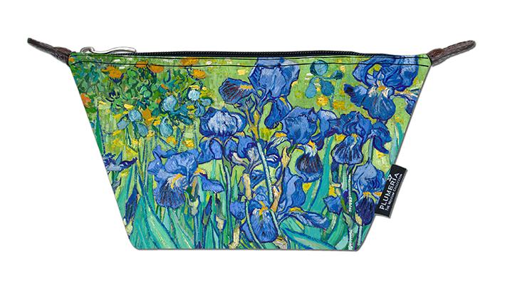 Cosmetic Bag Canvas, Van Gogh, Irises