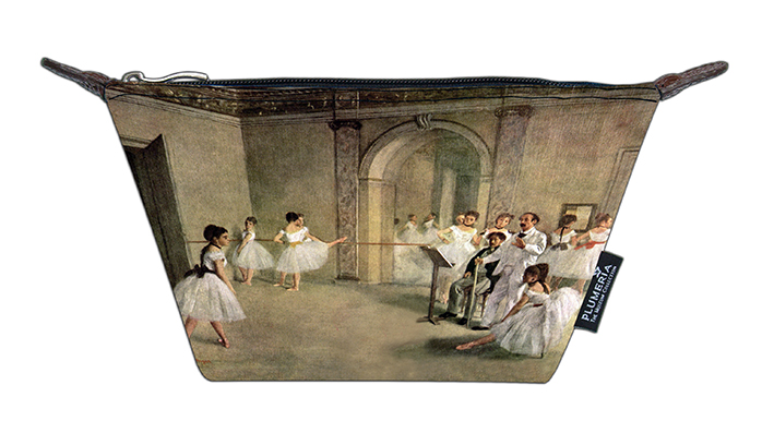 Cosmetic Bag Canvas, Degas, Foyer
