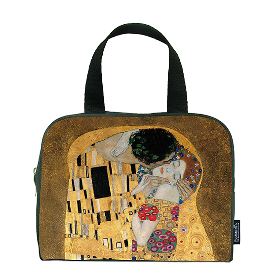 Traveller Bag, Klimt, The Kiss