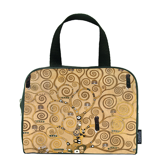 Traveller Bag, Klimt, Tree of Life