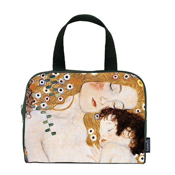 Traveller Bag, Klimt, Mother with child