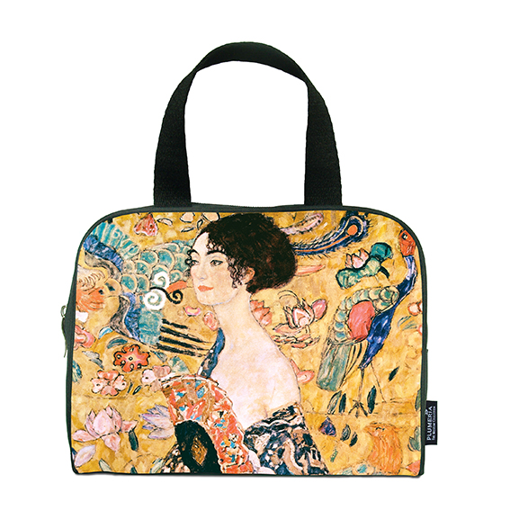 Traveller Bag, Klimt, Women with Fan