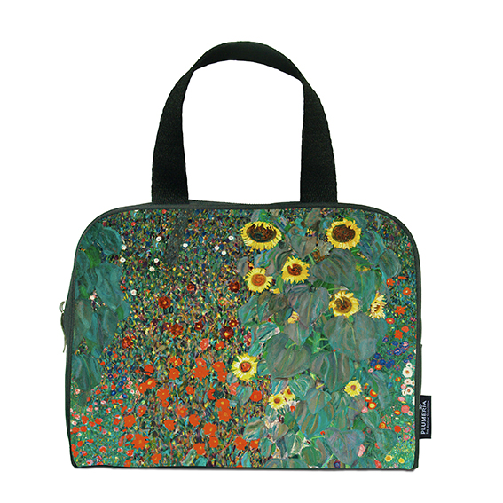Traveller Bag, Klimt, Garden with Sunflowers
