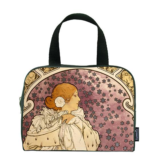 Traveller Bag, Mucha, La Dame Aux Camelias