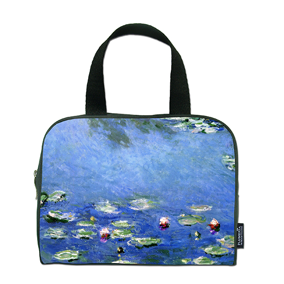 Traveller Bag, Monet, Waterlilies