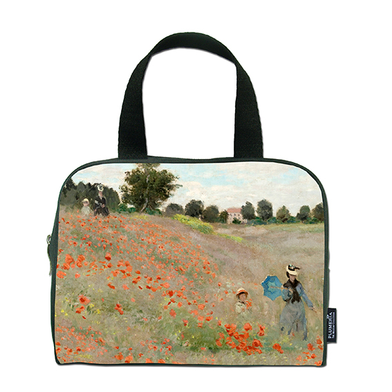 Traveller Bag, Monet, Poppies