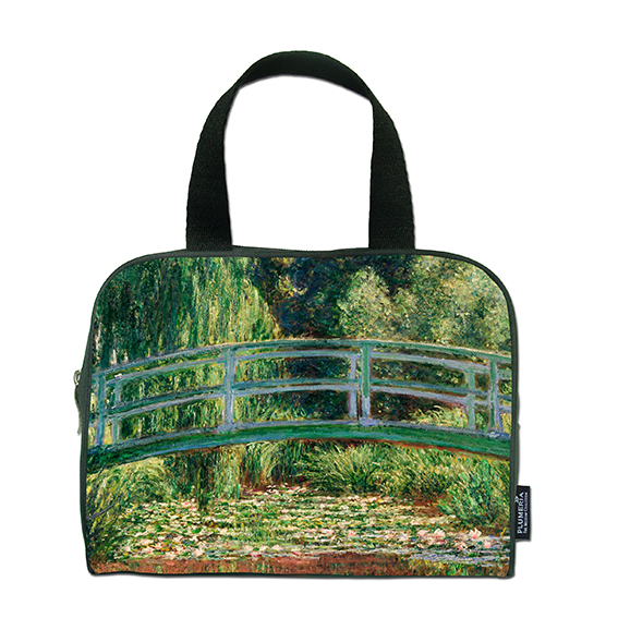 Traveller Bag, Monet, Japanese Bridge