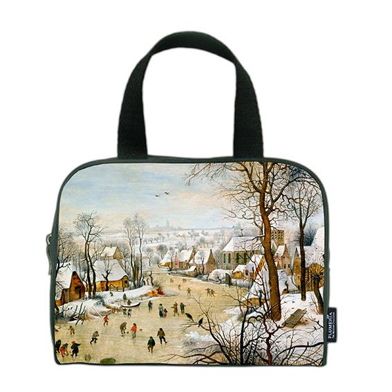 Traveller Bag, Bruegel, Winter landscape