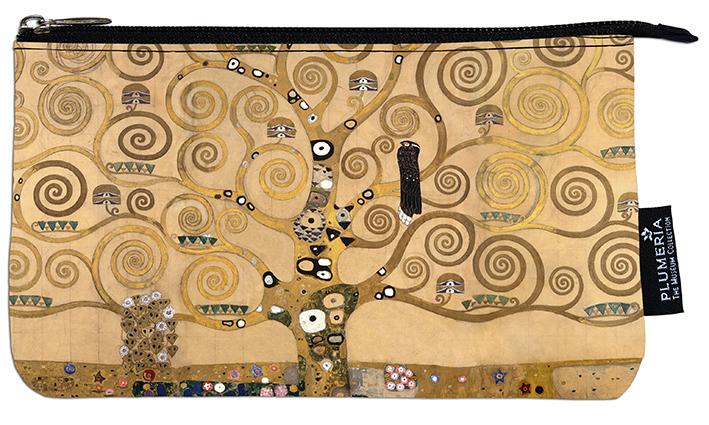 Cosmetic Bag Large, Klimt, Tree of Life