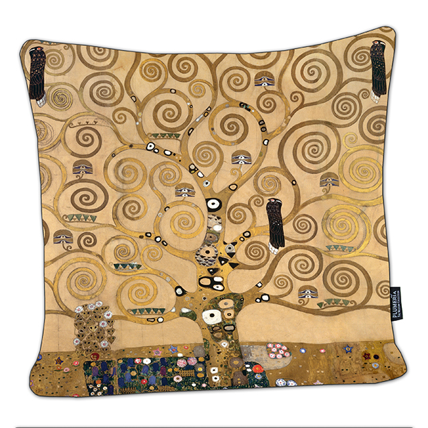 Cushion, Klimt, Tree of Life