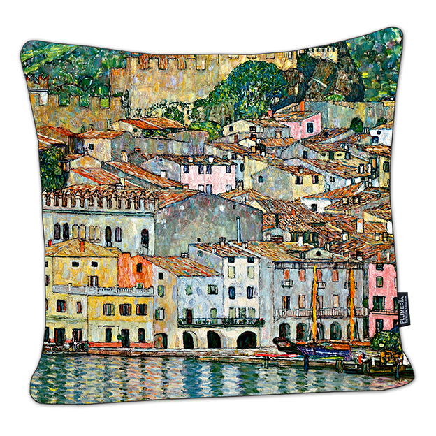Cushion, Klimt, Malcesine