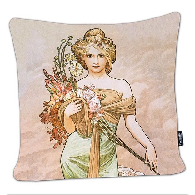 Cushion, Mucha, Spring