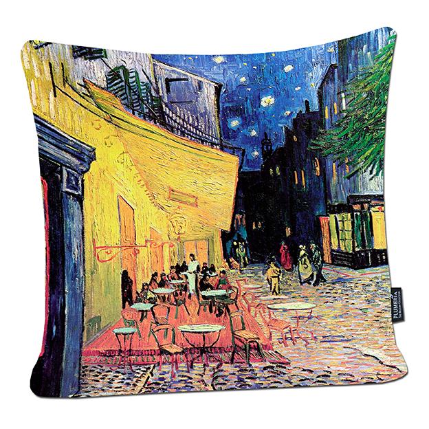 Cushion, Van Gogh, Cafe Terrace