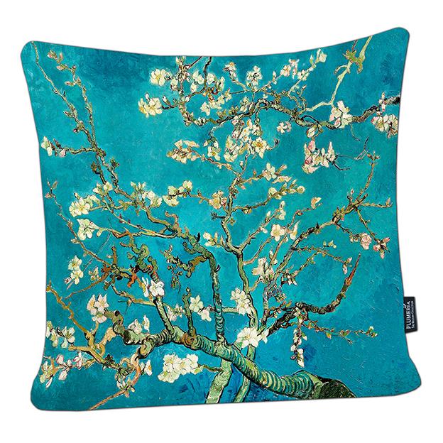 Cushion, Van Gogh, Almond Blossom