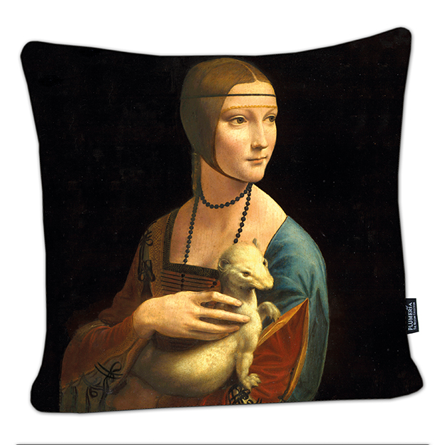 Cushion, Da Vinci, Lady