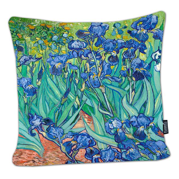 Cushion, Van Gogh, Irises