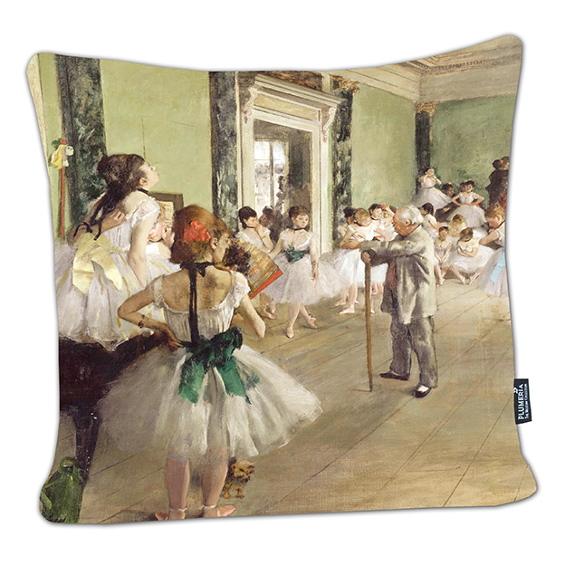 Cushion, Degas, Ballet Class