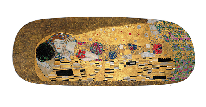 Eyeglasses Case with CC, Klimt, The Kiss
