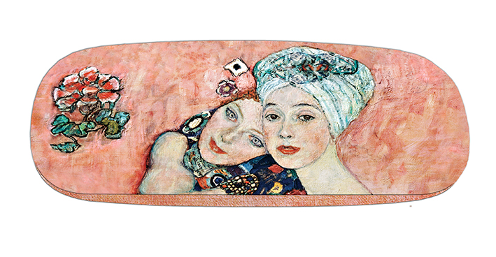 Eyeglasses Case with CC, Klimt, The Girlfriends