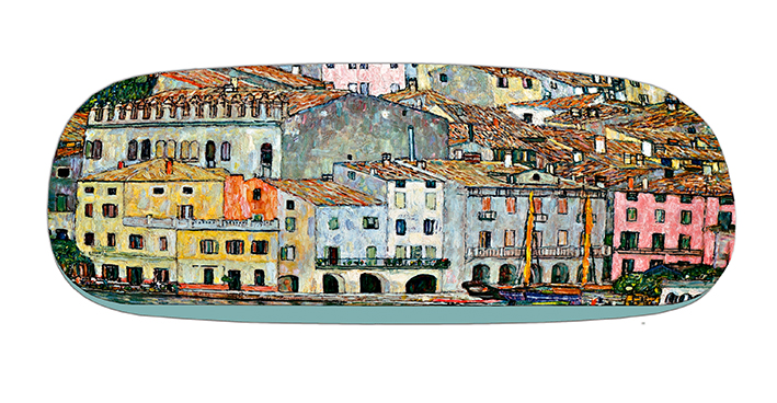 Eyeglasses Case with CC, Klimt, Malcesine