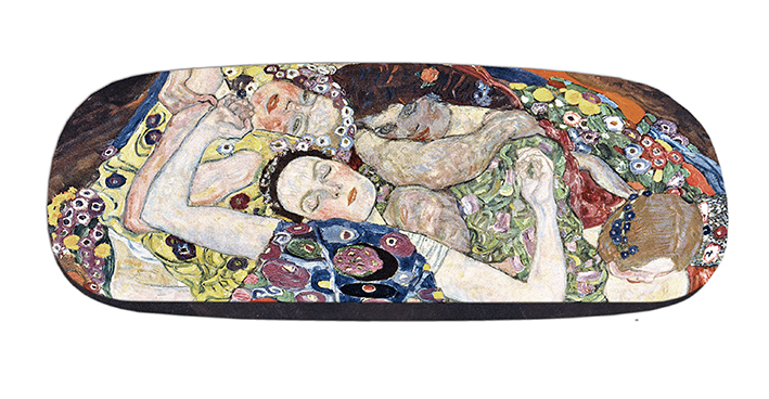 Eyeglasses Case with CC, Klimt, The Virgin