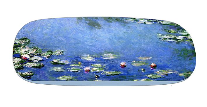 Eyeglasses Case with CC, Monet, Waterlilies