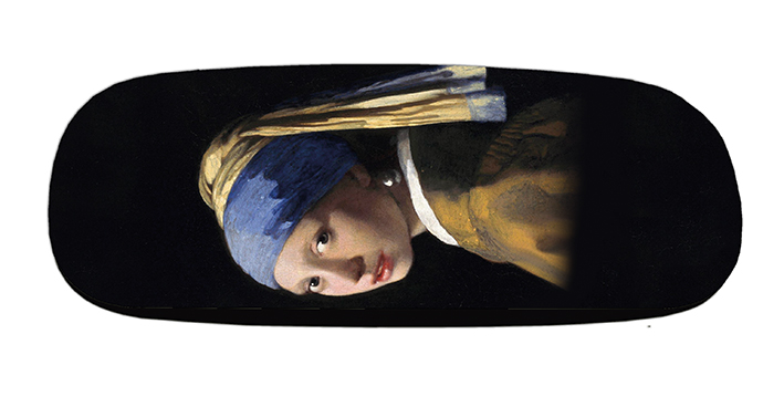 Eyeglasses Case with CC, Vermeer, The Girl with a Pearl Earring
