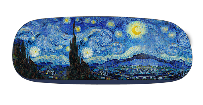 Eyeglasses Case with CC, Van Gogh, Starry Night
