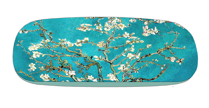Eyeglasses Case with CC, Van Gogh, Almond Blossom