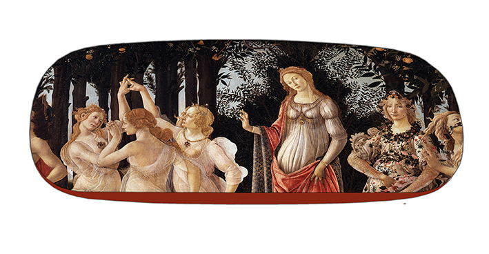 Eyeglasses Case with CC, Botticelli, La Primavera