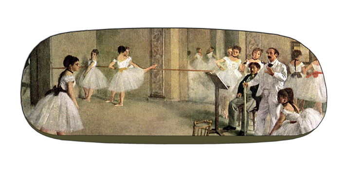 Eyeglasses Case with CC, Degas, Foyer