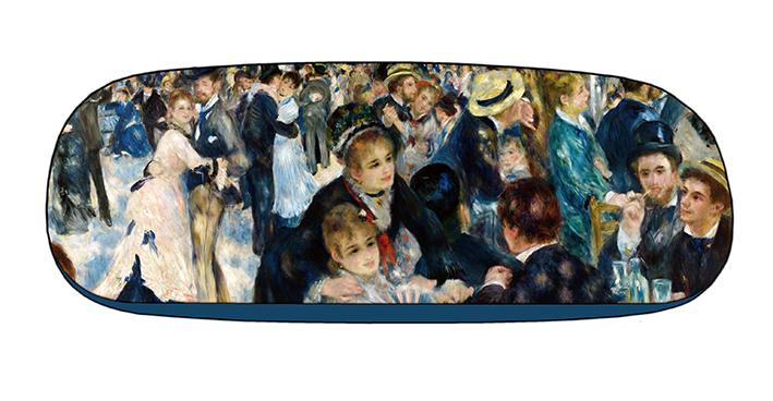 Eyeglasses Case with CC, Renoir, Dance