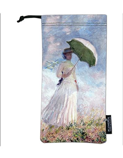 Glasses Pouch, Monet, Women with Parasol