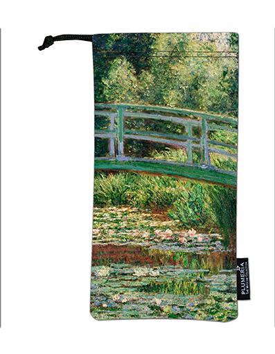 Glasses Pouch, Monet, Japanese Bridge