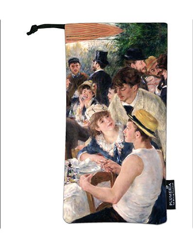 Glasses Pouch, Renoir, Luncheon at the boating party