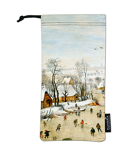 Glasses Pouch, Bruegel, Winter landscape